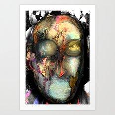 Strange Man Art Print