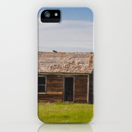 Sod Homestead, Mercer County, ND 5 iPhone Case