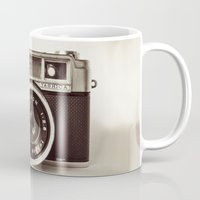 camera Mugs featuring Camera by Tuky Waingan