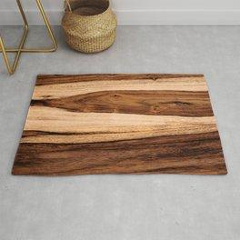 Sheesham Wood Grain Texture, Close Up Rug