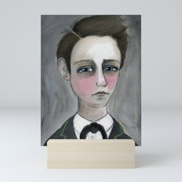 Arthur Rimbaud Soleil et chair, Victorian Writers Portrait Mini Art Print