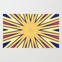 spires Area & Throw Rugs featuring Spires by Abstracts by Josrick