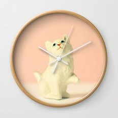 Vintage Kitten Wall Clock