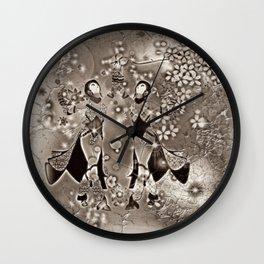 Tanz der Geishas Wall Clock