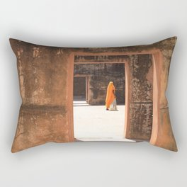 Amber Fort Rectangular Pillow
