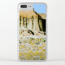 desert view at Red Rock Canyon, California, USA Clear iPhone Case