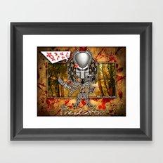 The Predator! Framed Art Print