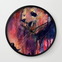 Out to Play Wall Clock