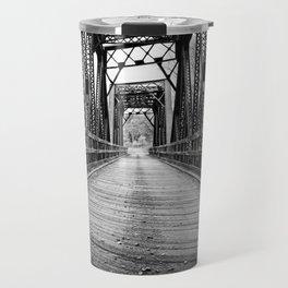 Old Train Bridge Bath, NH Travel Mug