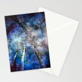 Everything is connected Stationery Cards
