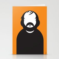 stanley kubrick Stationery Cards featuring Stanley by Ale Giorgini