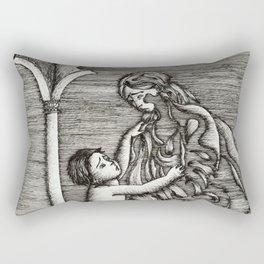 Don't go! Rectangular Pillow