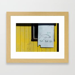 Call for Whale Watching Framed Art Print
