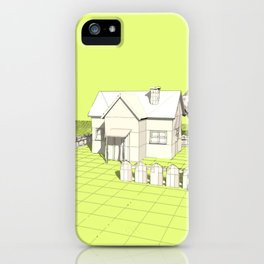 Rural scene iPhone Case