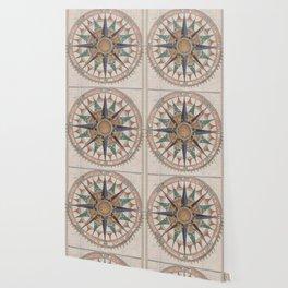 Historical Nautical Compass (1543) Wallpaper