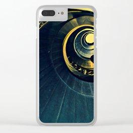 La spirale Clear iPhone Case