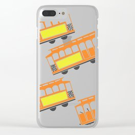 San Francisco Streetcars Clear iPhone Case