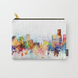 detroit skyline artisti Carry-All Pouch