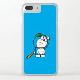 Doraemon baseball Clear iPhone Case