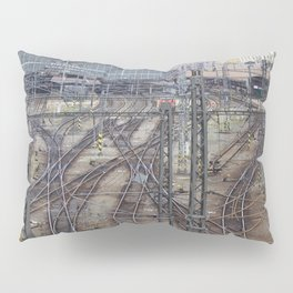 Prague Train Station Pillow Sham