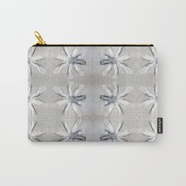 Daisy Jewelry Grid White Carry-All Pouch