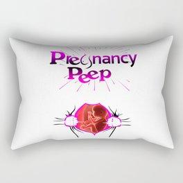 PREGNANCY PEEP Rectangular Pillow