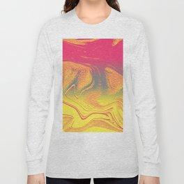 strange wave Long Sleeve T-shirt