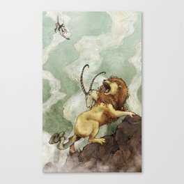 The Chimera Canvas Print