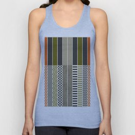 Patterns - Color Unisex Tank Top