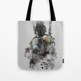 Boba Fett Grunge Tote Bag