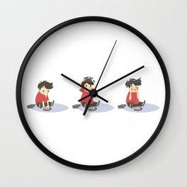 Geeno! Take #3 Wall Clock