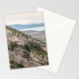 French lake view Stationery Cards