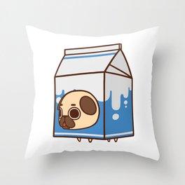 Puglie Milk Carton Throw Pillow