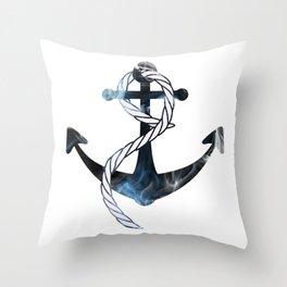 Ships Anchor Throw Pillow