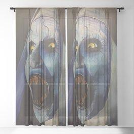 The  Nun Sheer Curtain