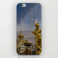 Peterhof palace iPhone & iPod Skin