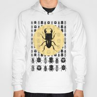bugs Hoodies featuring Bugs Pattern by DIVIDUS