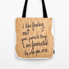 Paper Fascination Tote Bag