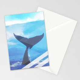 WHale Case Stationery Cards