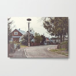 Village on the East Metal Print
