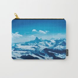 Winter Wonderland up in the Mountains #1 #art #society6 Carry-All Pouch
