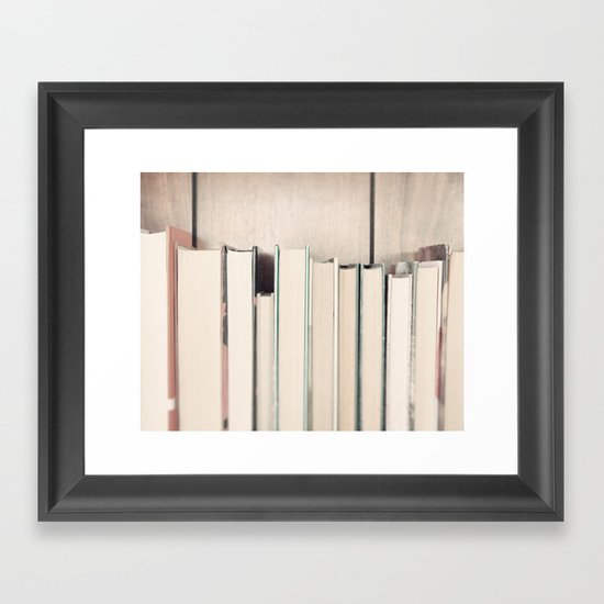 The Book Collection Framed Art Print
