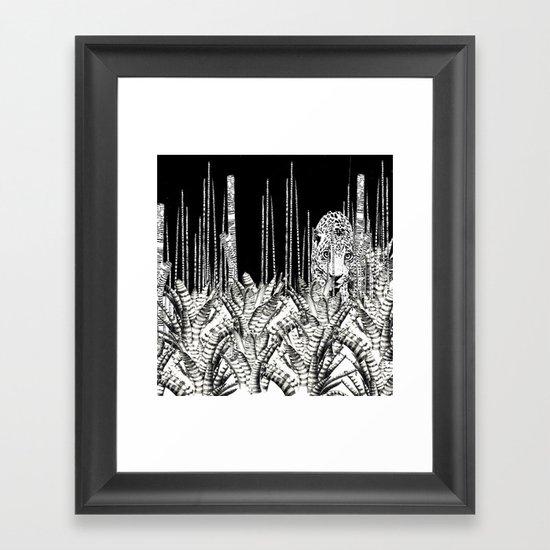 Camouflage UZU JUNGLE Framed Art Print