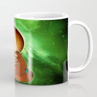 sailor jupiter Mugs featuring Sailor Jupiter by Maren Lex
