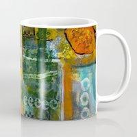 starbucks Mugs featuring Starbucks by Jenny Chatterton