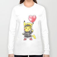 projectrocket Long Sleeve T-shirts featuring iHeart Birdychu by Randy C