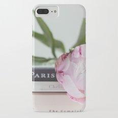 peony and paris iPhone 7 Plus Slim Case