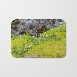 Tiny Mossy Landscape Bath Mat