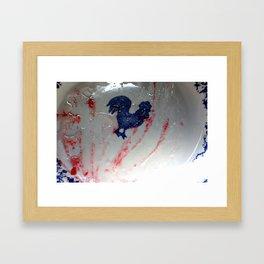 raspberry jam Framed Art Print