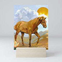 Sun King Stallion Mini Art Print